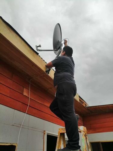 instalación y orientación de antenas