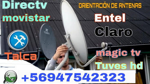 instalación y orientación de antenas satelitales