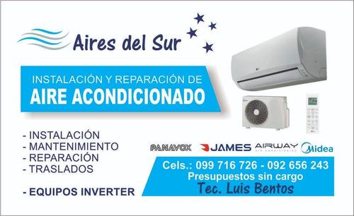 instalacion y reparacion de aire acondicionado