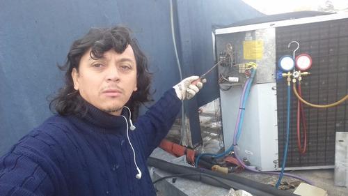 instalacion y reparacion de aire acondicionado matriculado