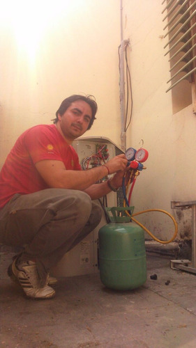 instalación y reparación de aires acondicionado y heladeras