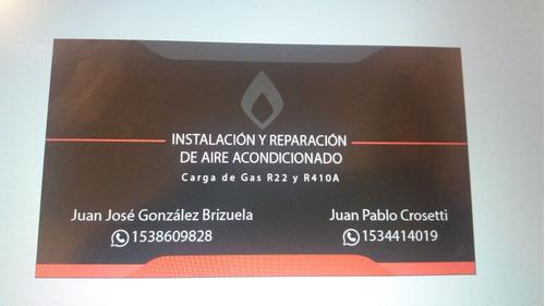instalacion y reparacion de aires acondicionados/split