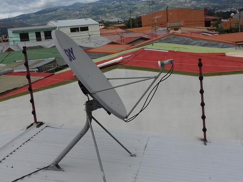 instalación y reparación de cercas eléctricas perimetrales.