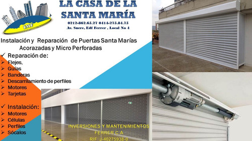 instalación y  reparación  de santa marías