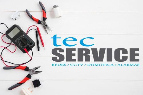 instalación y reparación de sistemas cctv domótica y alarmas
