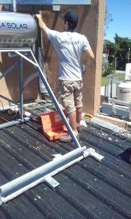instalación y reparación de termotanques solares