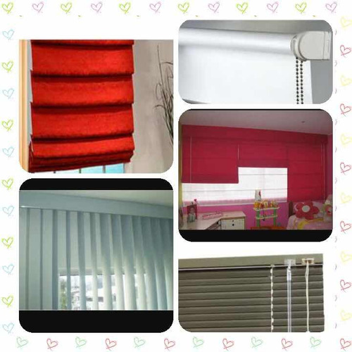 instalación y reparación, persianas y cortinas de tela.
