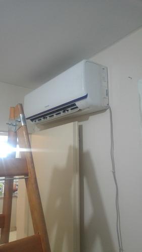 instalacion y service de aire acondic, split  con materiales