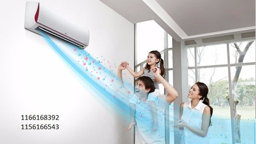 instalación y service de aire acondicionado split piso techo