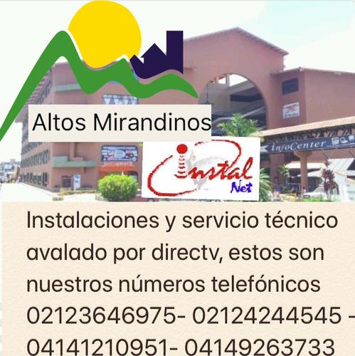 instalación y servicio técnico directv altos mirandinos