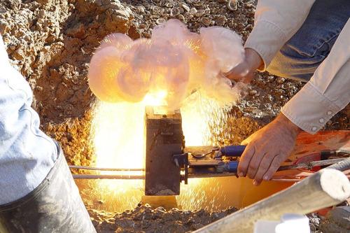 instalación y suministro de soldaduras exotérmicas