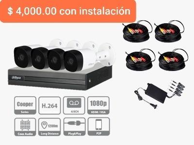 instalación y venta de cámaras de seguridad
