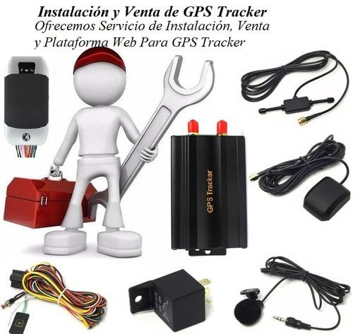 instalación y venta de gps tracker