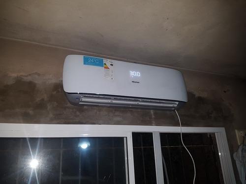 instalacion,colocacion y reparacion de aires acond. split