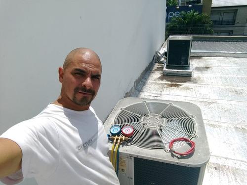 instalacion,colocacion y reparacion de aires acondicionado