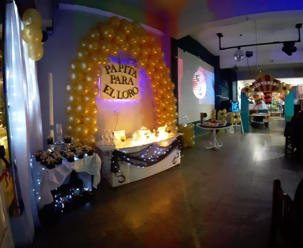 instalaciones completas salón eventos familiares.