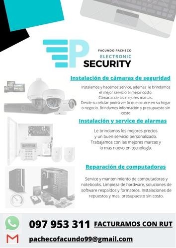 instalaciones de alarmas y cámaras de seguridad
