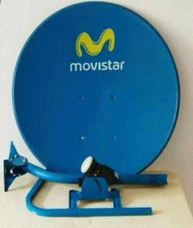 instalaciónes de antenas parabólicas satelitales movistar tv