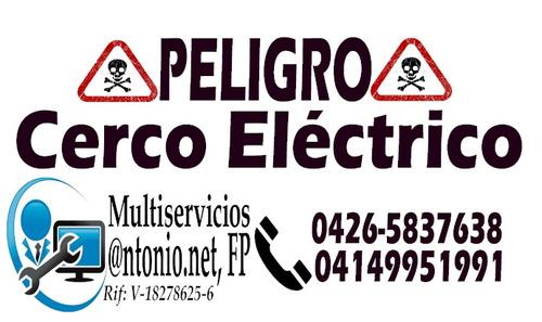 instalaciones de cercos electrico