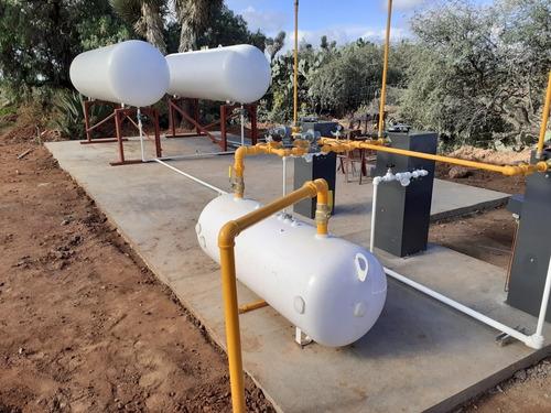 instalaciones de gas l.p. para invernaderos y mannto.