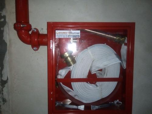 instalaciones de red fijas contra incendios