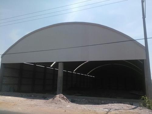 instalaciones de techos curvos