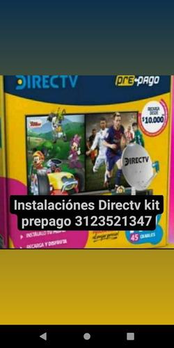 instalaciónes directv kit prepago