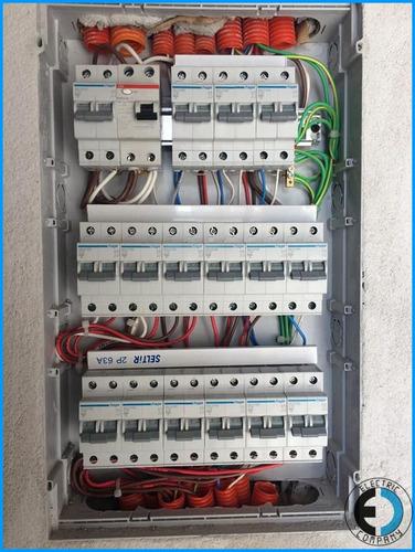 instalaciones eléctricas - firma autorizada por ute