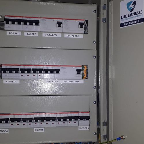 instalaciones electricas- industriales domesticas
