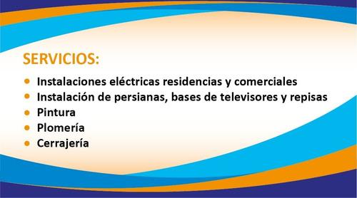 instalaciones eléctricas y generales en el hogar