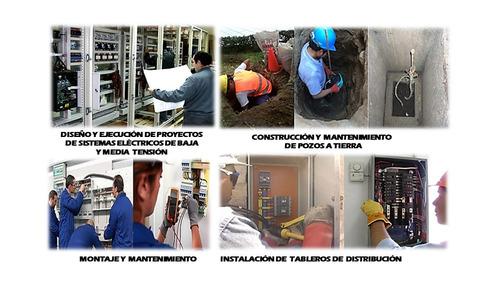 instalaciones eléctricas y sanitarias - estudio de suelos