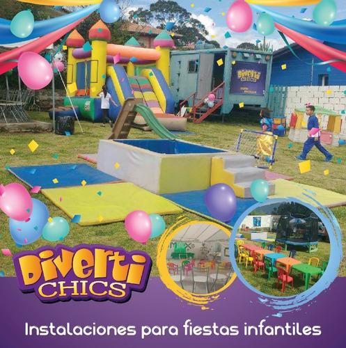 instalaciones para fiestas infantiles valle de los chillos