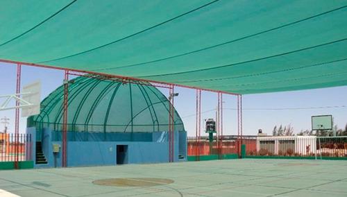 instalaciones protectoras de malla raschell