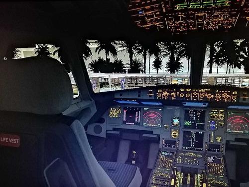 instalaciones simulador de vuelo sin salir de casa simcool