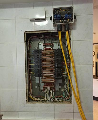 instalaciones transfer manual. plantas eléctricas  7.5 kva