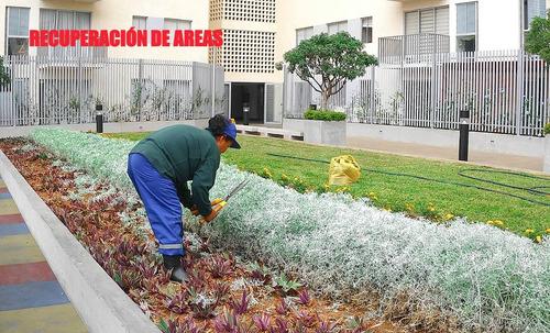 instalaciones y mantenimiento de jardines y jardineras