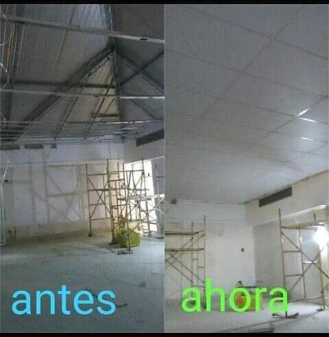 instalaciones y remodelaciones en acabados en drywall