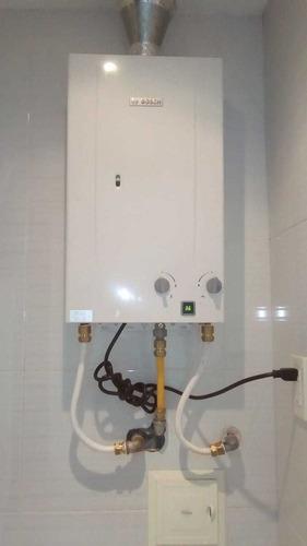 instalación,mantenimiento, reparación de calentadores bosch