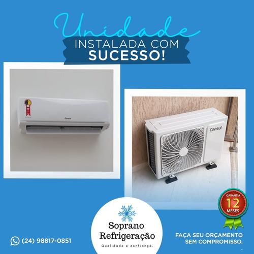instalação ar condicionado split