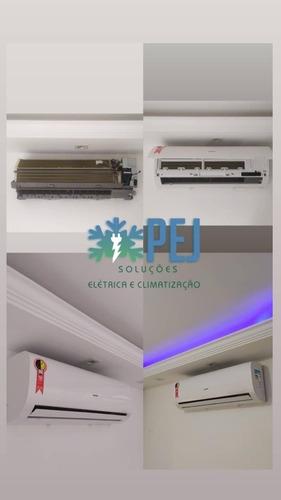 instalação ar condicionado split convencional e inverter