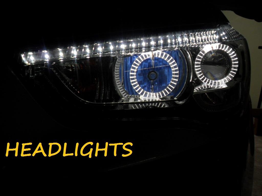 Instalação De Angel Eyes Led Mitsubishi Asx E Lancer - R ...