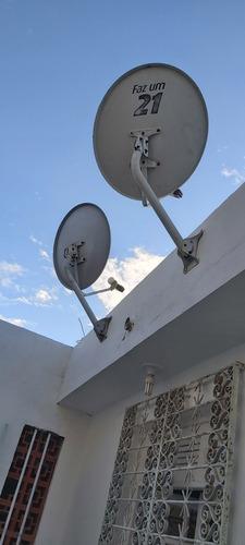 instalação de antenas (digital e satélite)
