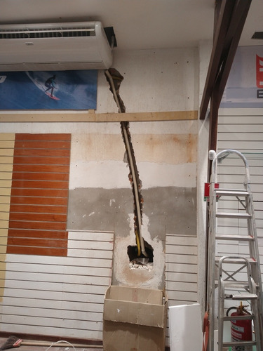 instalação de ar condicionado e infraestrutura