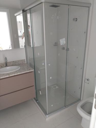 instalação de box de vidro , divisória, piso laminado