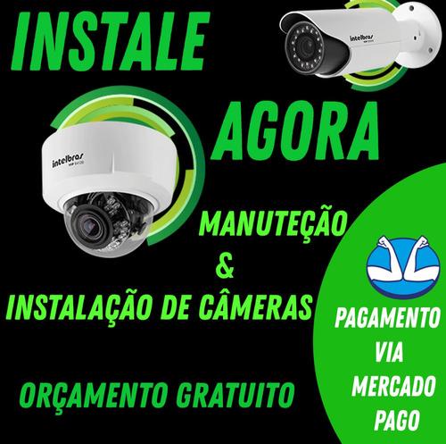 instalação de câmeras de segurança (cftv)