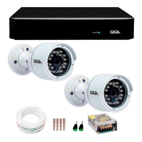 instalação de câmeras de segurança e toda area da ti.