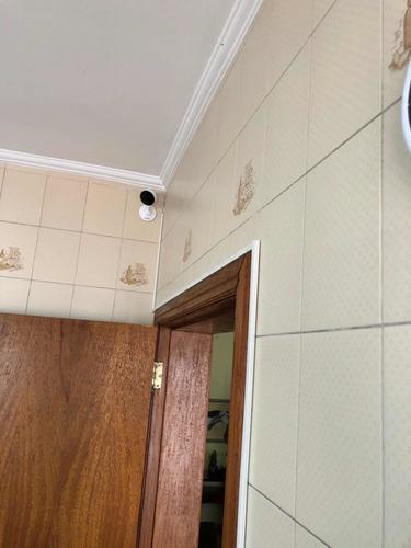 instalação de câmeras intelbras, garantia de um ano chama