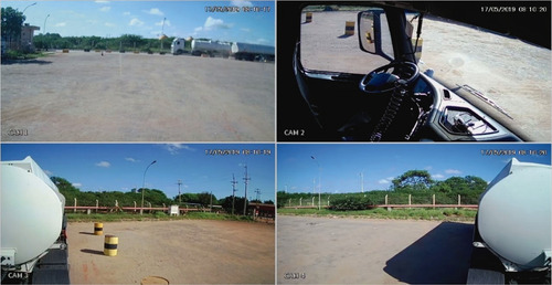 instalação de câmeras veicular com equipamento/dvr veicular.