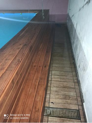 instalação de deck em piscina