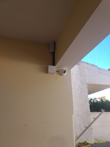 instalação de equipamentos de segurança